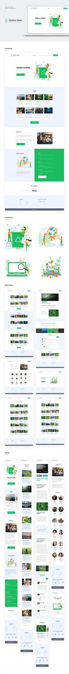 Green Power eco organization website