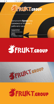 Логотип для Frukt.Group