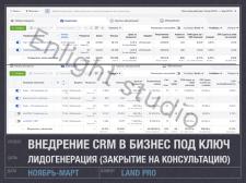 Таргет FB/IG - услуга внедрение CRM в бизнес