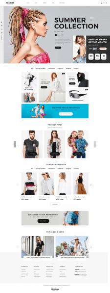 Fashion - LandingPage