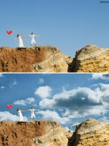 Ретушь и коррекция свадебных фотографий