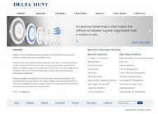 """Cайт """"Delta Hunt"""""""