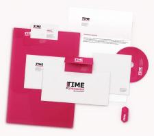 Фирменый стиль для фотостудии Time for fotosession