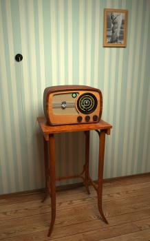 Ламповый радиоприемник VER Super 557