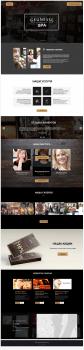 "Макет сайта для салона красоты ""Geunesse SPA"""