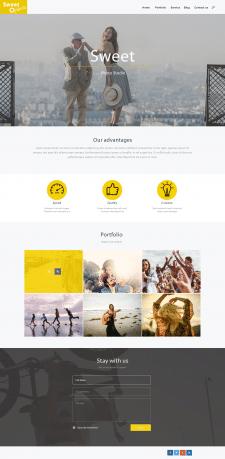 Дизайн сайта для фото-студии