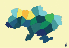 "print "" map of Ukraine"""