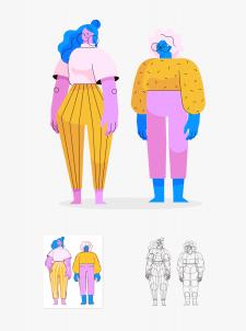 Дизайн персонажу