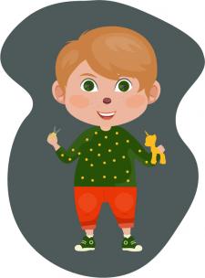 Иллюстрация мальчика
