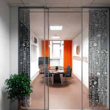 Дизайн интерьера переговорной ИТ-компании. Киев.