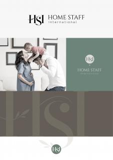 Логотип для компании по подбору домашнегоперсонала