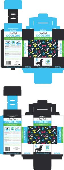 Упаковка - товар для собак - коврик для охлаждения
