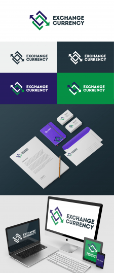Exchange currency logobook