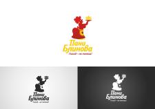 """Логотип для блинной """"пани Блинова"""""""