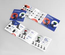 Каталог для производителя детских колясок