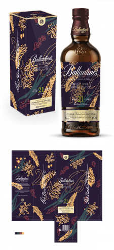 Ballantines limited edition pack