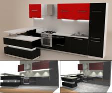 кухня 07 (программа: PRO100)