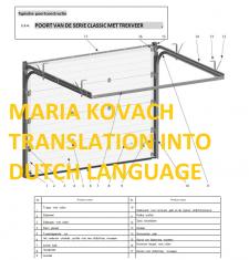 Перевод на голландский нидерландский