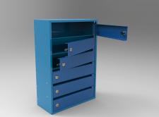 3D модель почтового ящика
