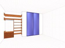 Встроенный шкаф.2