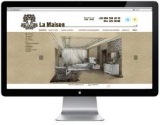 Сайт для магазина La Maison