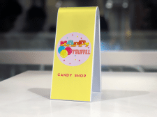 Логотип кондитерского магазина