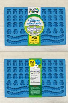 Упаковка для силиконовых форм