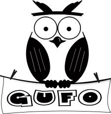 """Логотип для детского постельного белья""""Филин GUFO"""""""