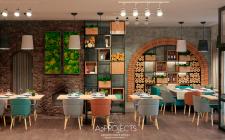 """Ресторан """"Arrostito""""в пригороде Киева"""
