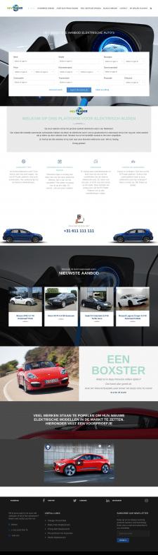 Сайт электромобилей