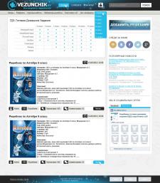 Разработка сайта под ключ для Vezunchik.by