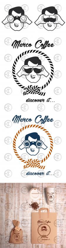 Логотип торговой марки кофе 2