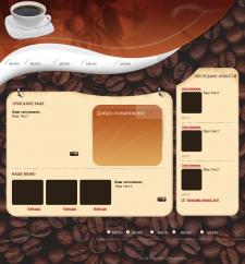 Дизайн для сайта кафе (Шаблон)