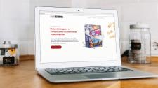 Сайт для производителя сухих завтраков и снеков