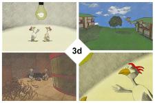 Иллюстрации 3d (стилизованные)