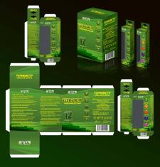 Дизайн медицинской упаковки (ртутный термометр)