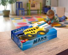 Дизайн коробки - Автобус школьний «Макс»
