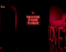 Неоновая вывеска Future