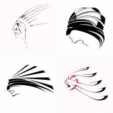 Логотип Индеец