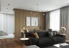 Интерьер частного дома 175 м.кв. Конча-Заспа