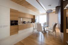 Квартира эко лофт кухня