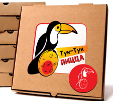 Логотип доставка пиццы