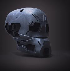 дизайн сай фай шлема