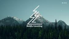 Boldly traveling landing Page