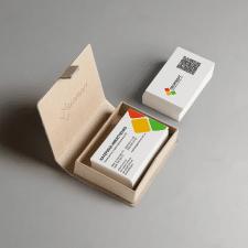 Разработка макета визитки с QR-кодом