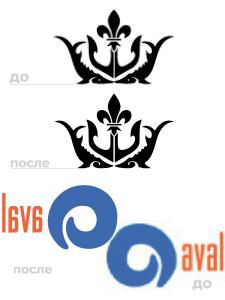 Отрисовка (вручную) логотипов из jpg в вектор