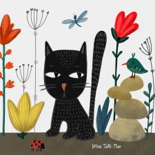 Иллюстрация в стиле Марии Приймаченко