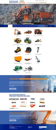 Корпоративный сайт официального представителя