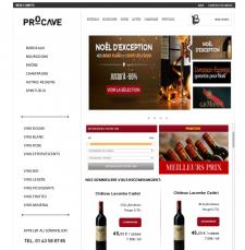 Каталог вин для французской компании