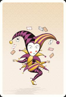 Иллюстрация Джокера в стиле Чиби